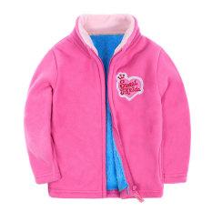 Toko Langsing Brand 2 Sampai 8 Usia Anak Girls Tebal Fleece Jaket Mantel Lapisan Bulu Dengan Pola Mobil Kartun Untuk Musim Dingin Kuning Hijau Intl Terlengkap