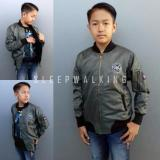 Jual Sw Jaket Bomber Anak Best Seller Hijau Sleepwalking Branded
