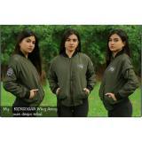 Toko Sw Jaket Bomber Wanita Hijau Army Lengkap Di Jawa Barat