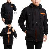 Review Sw Jaket Parka Pria Best Seller Black