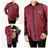 Review Tentang Sw Jaket Pria Bomber Parka Maroon