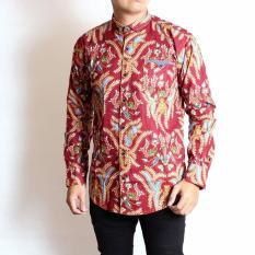 Sw Kemeja Batik Pria Panjang Best Seller Premium Promo Beli 1 Gratis 1