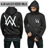 Jual Sweater Alan Walker Hoodie Ninja Black Aduuh Branded