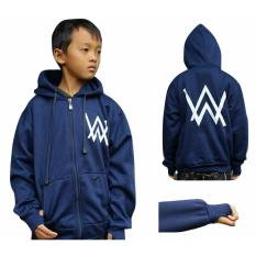 Diskon Sweater Anak Alan Walker Kids Navy Fleece Tebal
