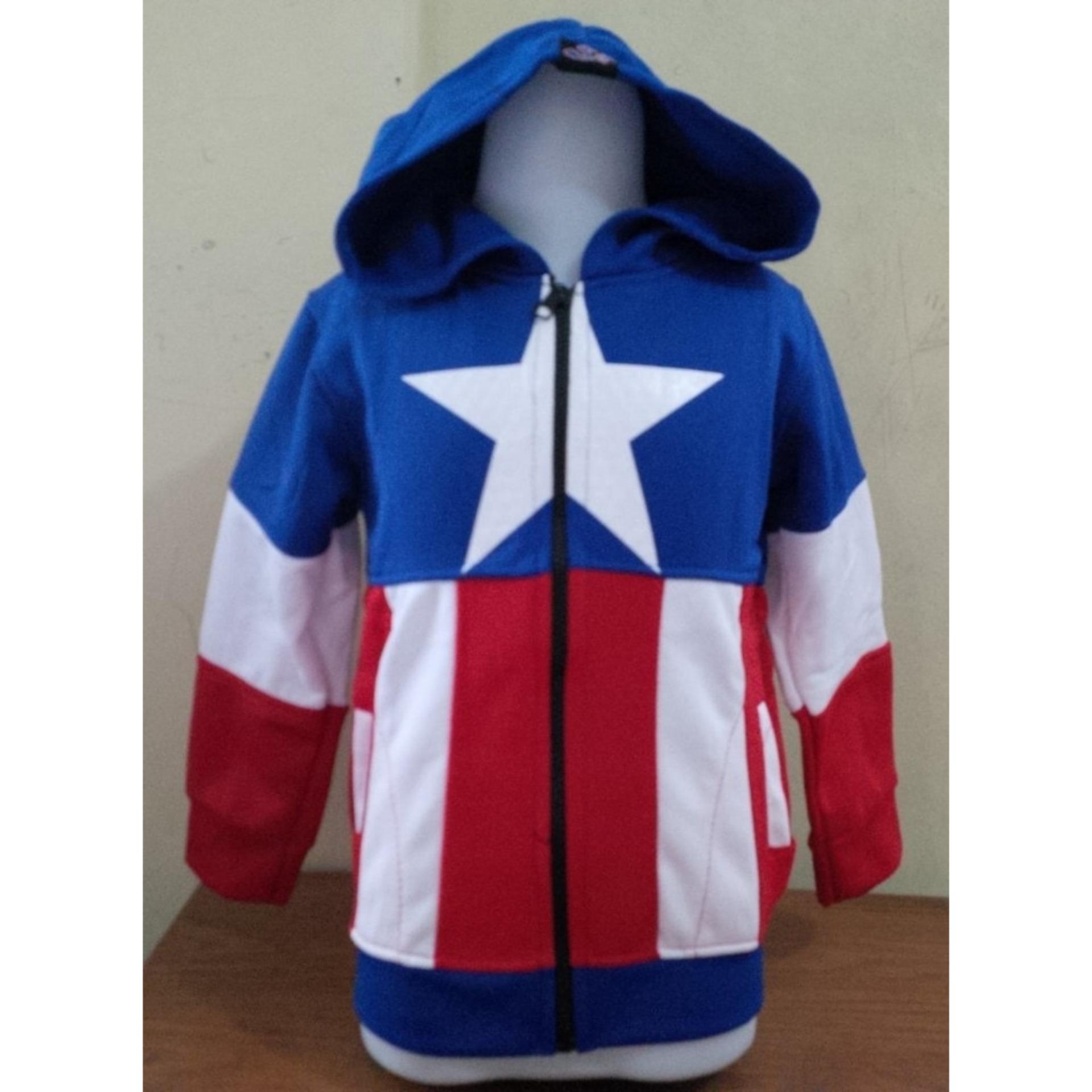Harga preferensial Jaket Anak Captain America terbaik murah - Hanya Rp68.850 e56dc6a1e3