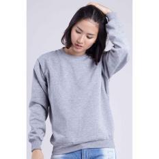 Toko Sweater Basic Polos Abu Misty Muda Terlengkap Dki Jakarta