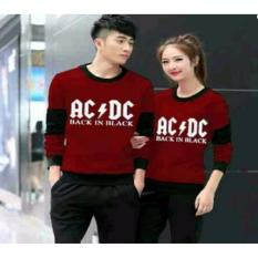 sweater couple - AC!DC - maroon