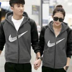 Jual Cepat Sweater Couple Qing Zipper Ba Babyterry