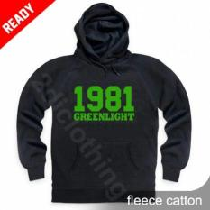 Hoodie Zipper Greenlight 1981 Black Premium