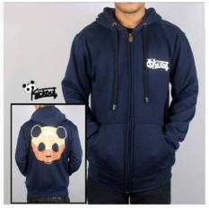 Diskon Produk Sweater Hodie Pria Trendy Kickout Bear Trend Masa Kini Navy