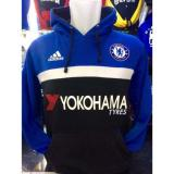 Harga Sweater Hoodie Bola Chelsea C 621B Jumper The Blues Kombinasi Biru Online