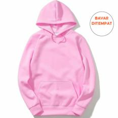 Review Sweater Hoodie Polos Pink Best Seller Bms Clothing