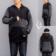 Harga Sweater Hoodie Pria Terbaru Murah Simple Hitam Abu Best Seller Termurah