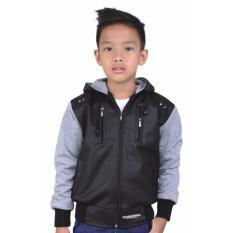 Jual Sweater Jaket Anak Laki Laki Catenzo Junior Cdi 120 Hitam Kombinasi Branded