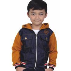 Harga Sweater Jaket Anak Laki Laki Catenzo Junior Crc 005 Tan Kombinasi Baru Murah