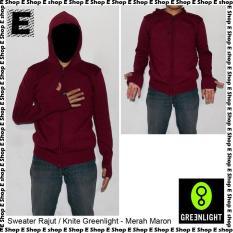 Sweater / Jaket Rajut Greenlight Ariel Noah Merah Maron - 35A3ad