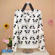 sweater panda white