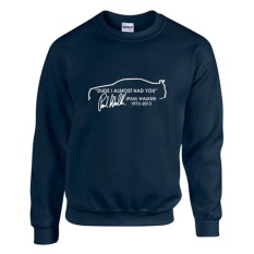 Spesifikasi Sweater Paul Walker Biru Dongker Dan Harga