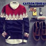 Promo Sweater Pria Rajut Gaston Tribal Indonesia