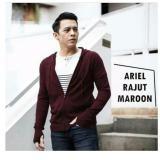 Sweater Rajut Ariel Premium Maroon Tanpa Merek Diskon