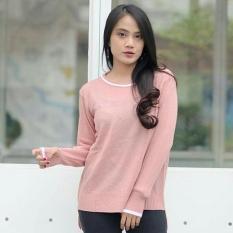 Sweater Rajut Cewe Chala Pink Klikfashions Diskon 50