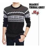 Harga Sweater Rajut Pria Blacky Original