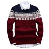 Beli Sweater Rajut Pria Columbus Tribal Best Online Indonesia