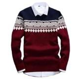 Review Sweater Rajut Pria Columbus Tribal Best