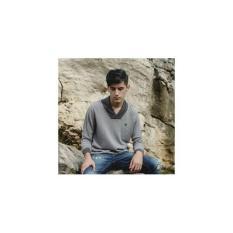 Sweater Rajut Pria Greenlight Abu