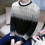 Harga Sweater Rajut Pria Keren Model Vintage Gradasi Tribal Jawa Timur