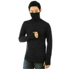 Harga Sweater Rajut Pria Keren Model Vintage Kakashi Long Neck Hitam Online Jawa Timur