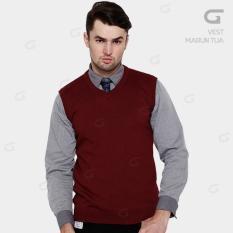 Beli Sweater Rajut Pria Vest Rompi Dengan Kartu Kredit