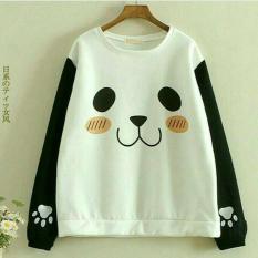 Toko Sweater Roundhand Panda Best Seller Promo Lucu Dekat Sini