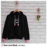 Beli Sweater Wanita F Jaket Hoodie Dear Love Dengan Kartu Kredit
