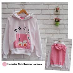 Review Sweater Wanita F Jaket Hoodie Hamster Sweater