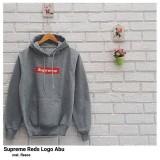 Harga Sweater Wanita F Jaket Hoodie Supreme Red Logo Yang Murah Dan Bagus