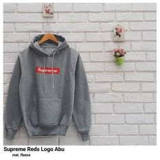 Spesifikasi Sweater Wanita F Jaket Hoodie Supreme Red Logo Baru