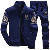 Ulasan Set Cardigan Sweater Lengan Panjang Kasual Pria Y7 Biru Di Bagian Tebal Y7 Biru Di Bagian Tebal