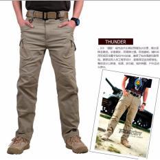 Beli Swiss Hunter Blackhawk U Armour Tacttical Cargo Celana Panjang Cream Online
