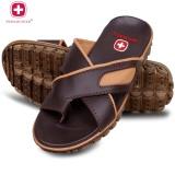 Spesifikasi Swiss Hunter Tactical Sandal Pria Brown Baru