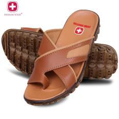 Spesifikasi Swiss Hunter Tactical Sandal Pria Mocca Beserta Harganya