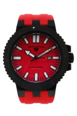 Obral Swiss Legend Jam Tangan Pria Merah Silicone Strap 10126 Bb 01 Rda Murah