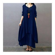 Syahrini Dress Navy ANS BL