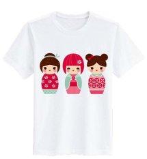 Toko Sz Graphics 3 Sisters T Shirt Wanita Kaos Wanita T Shirt Fashion Wanita T Shirt Kaos Distro Wanita Putih Terlengkap Dki Jakarta