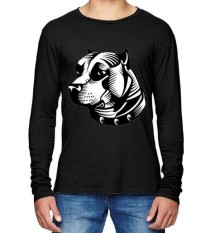 Beli Barang Sz Graphics Bulldog T Shirt Long Sleeve Pria Kaos Lengan Panjang Pria Kaos Pria T Shirt Pria T Shirt Fashion Hitam Online