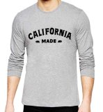 Jual Sz Graphics California Made T Shirt Long Sleeve Pria Kaos Lengan Panjang Pria T Shirt Pria Kaos Pria T Shirt Fashion Misty Original