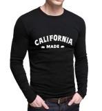 Toko Sz Graphics California T Shirt Long Sleeve Pria Kaos Lengan Panjang Pria T Shirt Pria Kaos Pria Hitam Sz Graphics Dki Jakarta