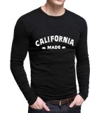 Jual Sz Graphics California T Shirt Long Sleeve Pria Kaos Lengan Panjang Pria T Shirt Pria Kaos Pria Hitam Murah Dki Jakarta