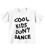 Beli Sz Graphics Cool Kids Dont Dance Kaos Anak T Shirt Anak Putih Murah