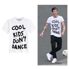 Penawaran Istimewa Sz Graphics Cool Kids T Shirt Pria Kaos Pria Putih Terbaru